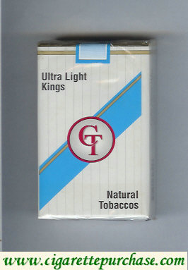 Discount CT Ultra Light kings cigarettes