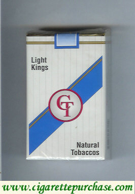 Discount CT light kings cigarettes natural tobaccos