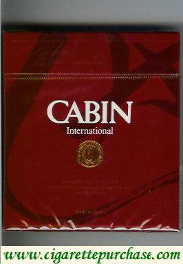 Discount Cabin International cigarettes