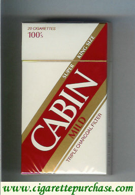 Discount Cabin Mild 100s cigarettes super king size