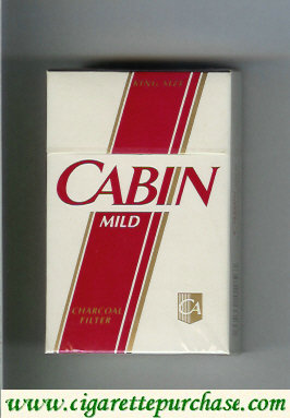 Discount Cabin Mild cigarettes Charcoal Filter