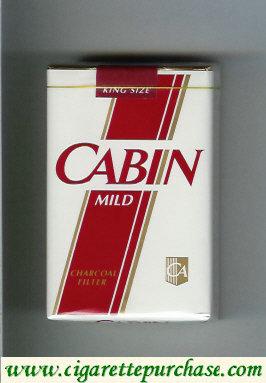 Discount Cabin Mild cigarettes soft box