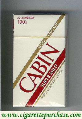 Discount Cabin Super Mild 100s cigarettes king size