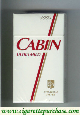 Discount Cabin Ultra Mild 100s cigarettes Charcoal Filter