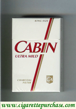 Discount Cabin Ultra Mild cigarettes Charcoal Filter
