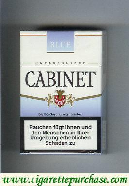 Discount Cabinet Blue cigarettes