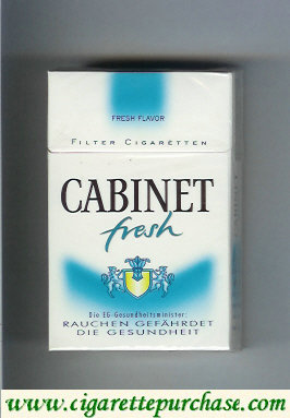 Discount Cabinet Fresh Fresh Flavor cigarettes