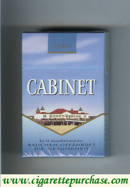Cabinet Lights Usedom cigarettes collection version