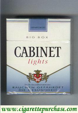 Discount Cabinet Lights cigarettes big box