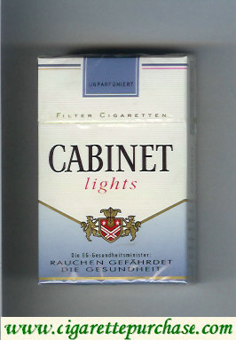 Discount Cabinet Lights cigarettes