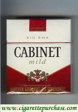 Discount Cabinet Mild cigarettes big box