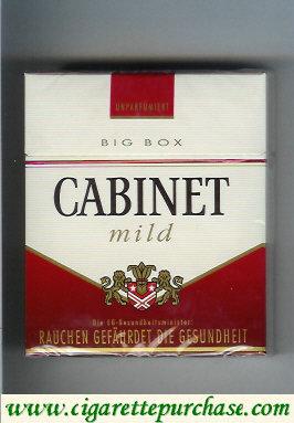 Discount Cabinet Mild cigarettes big box