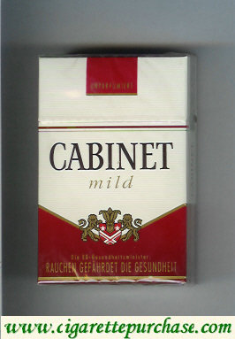 Discount Cabinet Mild cigarettes king size