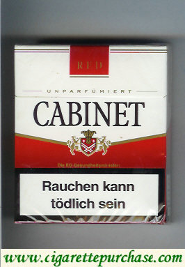 Discount Cabinet Red cigarettes big box 24