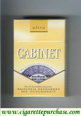 Cabinet Ultra Leipzig cigarettes collection version