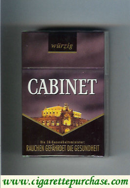 Discount Cabinet Wurzig Dresden cigarettes collection version
