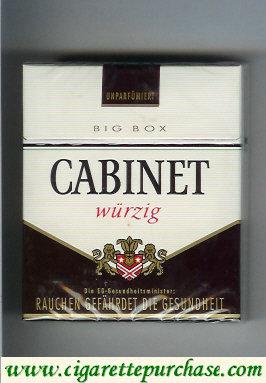 Discount Cabinet Wurzig cigarettes big box