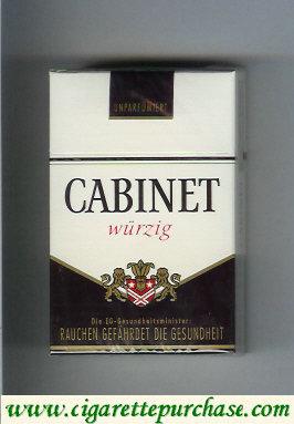 Discount Cabinet Wurzig cigarettes