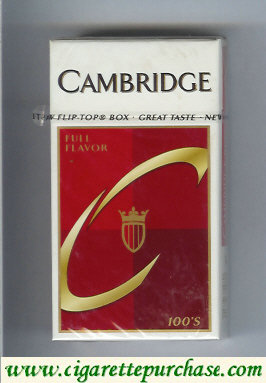 Cambridge Full Flavor 100s cigarettes