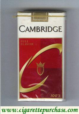 Discount Cambridge Full Flavor 100s cigarettes