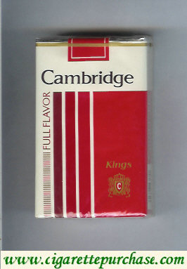 Discount Cambridge Full Flavor cigarettes