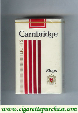 Discount Cambridge Lights cigarettes king