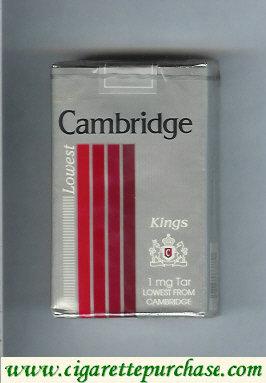 Discount Cambridge Lowest cigarettes