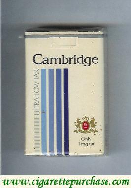 Discount Cambridge Ultra Low Tar cigarettes soft box
