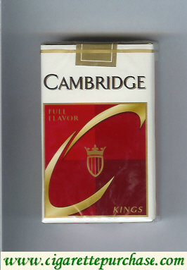 Cambridge cigarettes Full Flavor kings