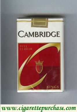 Discount Cambridge cigarettes Full Flavor kings