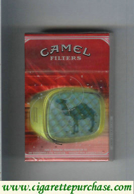 Discount Camel 1926 Primera Transmision De TV cigarettes hard box