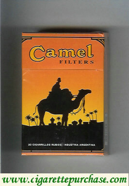 Discount Camel 90 Years cigarettes hard box