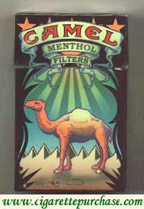 Discount Camel Art Issue Menthol cigarettes hard box