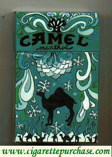 Camel Art Issue Menthol hard box cigarettes