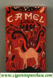 Discount Camel Art Issue cigarettes hard box