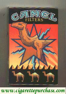 Camel Art Issue side slide cigarette hard box