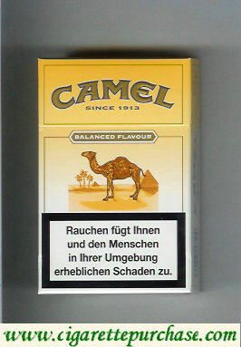 Discount Camel Balanced Flavour Medium cigarettes hard box