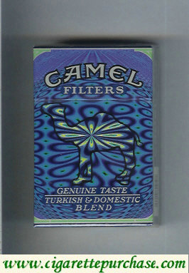 Camel Cigarettes Genuine Taste Turkish Domestic Blend Filters hard box