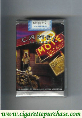 Camel Cigarettes Road Filters soft box