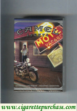 Discount Camel Cigarettes Road Lights hard box