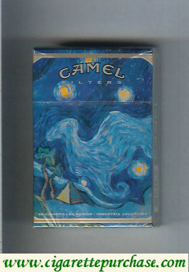 Discount Camel Cigarettes collection version ART Collection hard box