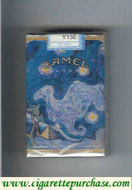 Camel Cigarettes collection version ART Collection soft box