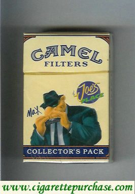Discount Camel Collector Pack Joes Place Max Filters cigarettes hard box