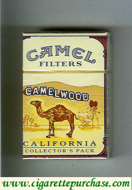 Camel Collectors Pack California Filters cigarettes hard box