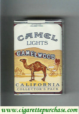 Camel Collectors Pack California Lights cigarettes hard box