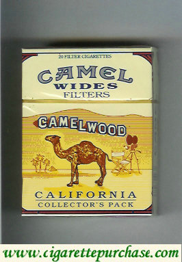 Camel Collectors Pack California Wides Filters cigarettes hard box