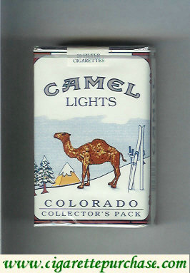 Camel Collectors Pack Colorado Lights cigarettes hard box