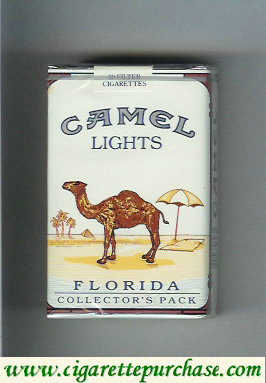 Discount Camel Collectors Pack Florida Lights cigarette soft box
