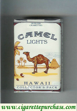 Discount Camel Collectors Pack Hawaii Lights cigarettes soft box