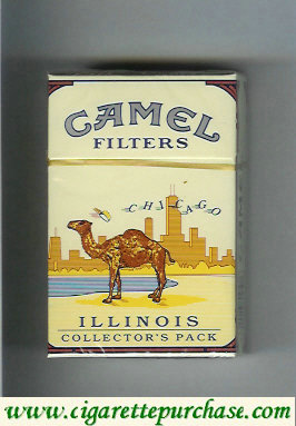 Discount Camel Collectors Pack Illinois Filters cigarettes hard box